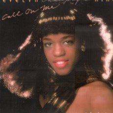 Discos de vinilo: EVELIN KING - CHAMPAGNE - CALL ON ME / LP RCA DE 1980 / BUEN ESTADO RF-9520. Lote 260330390