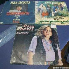 Disques de vinyle: LOTE 15 SINGLES. Lote 260335980