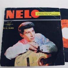 Discos de vinilo: NELO-SINGLE LISBOA ANTIGUA. Lote 260338885