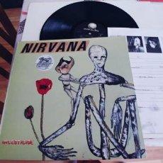 Discos de vinilo: NIRVANA-LP INSECTICIDE-ENCARTE-NUEVO. Lote 260342805