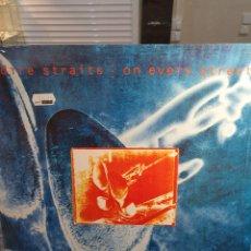 Discos de vinilo: DIRE STRAITS LP ON EVERY STREET. Lote 260343375
