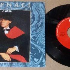 Disques de vinyle: RAPHAEL / TOCO MADERA / SINGLE 7 PULGADAS. Lote 260347750
