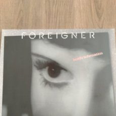 """Discos de vinilo: FOREIGNER """" INSIDE INFORMATION """". EDICIÓN ALEMANA. 1987. ATLÁNTIC RECORDS.. Lote 260353560"""