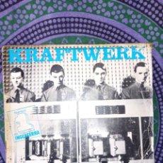 Discos de vinilo: KRAFTWERK – LAS MODELOS+TAUCHEN PROKOPETZ – CODO DE REGALO 2 SINGLES 45RPM,DISCOS DE VINILO. Lote 260353670