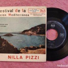 """Discos de vinilo: 7"""" NILLA PIZZI - BINARIO +3 - RCA 3-22136 EP SPAIN PRESS (VG++/EX+) I FESTIVAL CANCION MEDITERRANEA. Lote 260357525"""