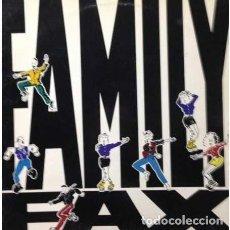 Discos de vinilo: FAMILY FAX * HIP HOP 1990. Lote 284574303