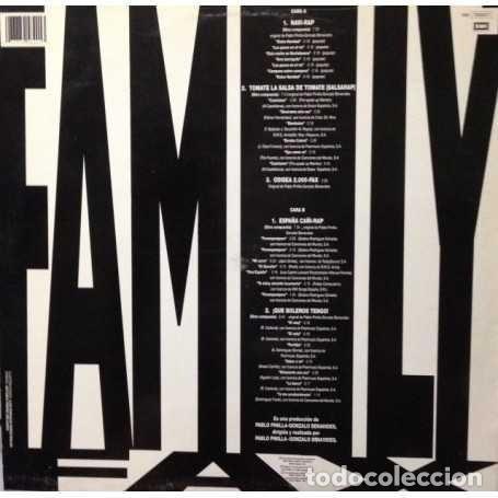 Discos de vinilo: FAMILY FAX * HIP HOP 1990 - Foto 3 - 284574303