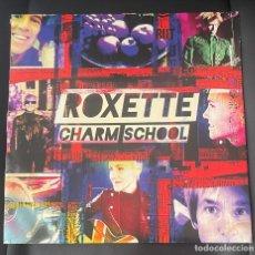 Discos de vinilo: ROXETTE CHARM SCHOOL VINILO SUPER RARO. PER GESSLE. MARIE FREDRIKSSON. Lote 260371390