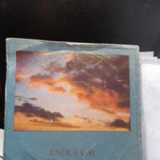 Discos de vinilo: ENOLA GAY=MANIOBRAS ORQUESTALES EN LA OSCURIDAD. Lote 260377280