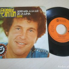 Discos de vinilo: BOBBY VINTON - SERENATA A LA LUZ DE LA LUNA / ELISE (SINGLE SPAIN 1976) EN ESTADO COMO NUEVO. Lote 260377660