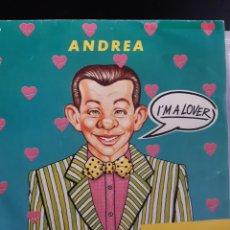 Discos de vinilo: ANDREA(4)-I'M A LOVER. Lote 260378960