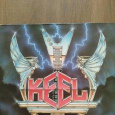"""Discos de vinilo: KEEL """"THE RIGHT TO ROCK """". EDICIÓN ESPAÑOLA. 1985. VÉRTIGO.. Lote 260389580"""