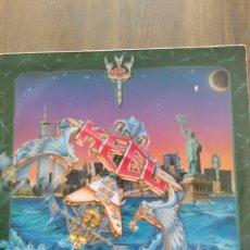 """Discos de vinilo: KEEL """" THE FINAL FRONTIER """". EDICIÓN HOLANDESA. 1986. VÉRTIGO. Lote 260390395"""