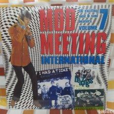 Discos de vinilo: MOD MEETING INTERNATIONAL VOLUME 7. LP VINILO PRECINTADO.. Lote 260393100