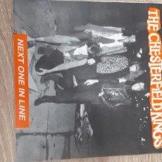 Discos de vinilo: CHESTERFIELD KINGS NEXT ONE IN LINE ...GARAGE PUNK. Lote 260423820