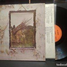 Discos de vinil: LED ZEPPELIN LED ZEPPELIN LP SPAIN 1971 PEPETO TOP. Lote 260425430