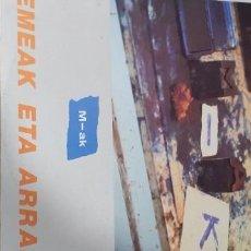 Discos de vinilo: M-AK EMEAK ETA ARRAK ...KAKI ARKARAZO,MONTOIA,NEGU ,ETC. Lote 260426495