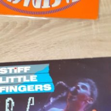 Discos de vinilo: STIFF LITTLE FINGERS ST PATRIX THE WILD RIVER EP 3 TEMAS. Lote 260427035