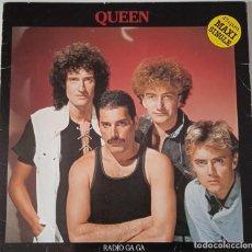 Discos de vinilo: QUEEN...RADIO GA GA . (EMI 1984) SPAIN. Lote 260429160