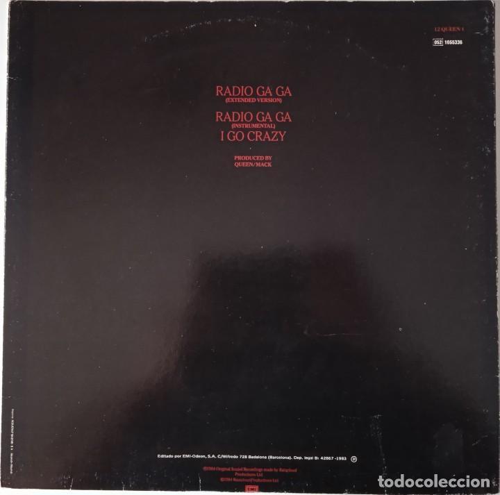 Discos de vinilo: Queen...Radio Ga Ga . (EMI 1984) Spain - Foto 2 - 260429160