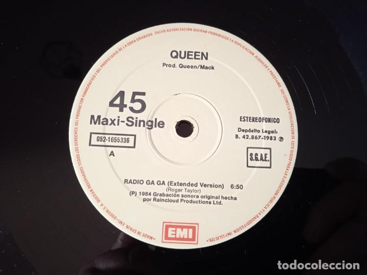 Discos de vinilo: Queen...Radio Ga Ga . (EMI 1984) Spain - Foto 4 - 260429160