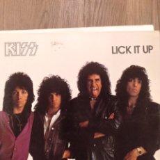 """Discos de vinilo: KISS """" LICK IT UP """". EDICIÓN ESPAÑOLA. 1983. CASABLANCA RECORDS.. Lote 260429610"""