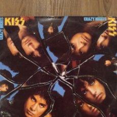 """Discos de vinilo: KISS """" CRAZY NIGHTS """". EDICIÓN ESPAÑOLA. 1987. MERCURY RECORDS.. Lote 260430735"""
