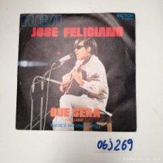 Discos de vinilo: JOSÉ FELICIANO - QUE SERÁ. Lote 260434345