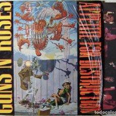Discos de vinilo: GUNS N´ROSES.APPETITE FOR DESTRUCTION.CENSURADO...EDICION ESPAÑOLA 1988...REGALO PORTADA DE SINGLE. Lote 260465810