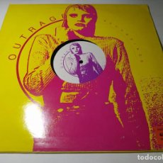 Dischi in vinile: MAXI - GREGOR DIETZ AND RAYMOND BEYER – OUTRAGE 8 - OUT 1508 (VG+ / VG+) BELGICA 1992. Lote 260487055