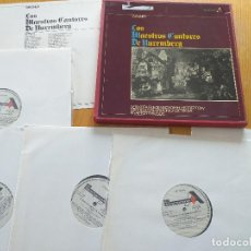 Discos de vinilo: WAGNER -LOS MAESTROS CANTORES DE NUREMBERG- SET BOX 5 LP. -FILARMONICA DE VIENA. Lote 260489715