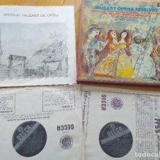 Discos de vinilo: MOZART OPERA FESTIVAL - DECCA SET 548-9 (2LP) - AÑO 1975 - VIENNA HAYDN ORCHESTRA- ISTVAN KERTESZ. Lote 260498530