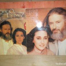 Discos de vinil: SERGIO Y ESTIBALIZ - SI SEÑOR + CUIDADO CON LA NOCHE - 2 LPS - DISPONGO DE MAS VINILOS. Lote 260501525