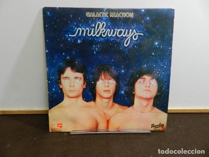 DISCO VINILO LP. MILKWAYS – GALACTIC REACTION. 33 RPM. (Música - Discos - LP Vinilo - Electrónica, Avantgarde y Experimental)