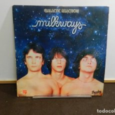 Discos de vinilo: DISCO VINILO LP. MILKWAYS – GALACTIC REACTION. 33 RPM.. Lote 260507770