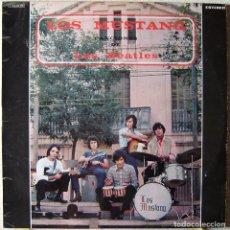 Discos de vinilo: LOS MUSTANG . CANCIONES DE LOS BEATLES...ESCASO. Lote 260510410