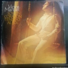 Discos de vinilo: VICTOR MANUEL. SOY UN CORAZÓN TENDIDO AL SOL.. Lote 260531340
