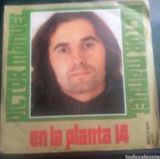 Discos de vinilo: VICTOR MANUEL. EN LA PLATA 14. Lote 260531785