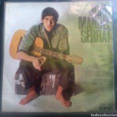Discos de vinilo: J. MANUEL SERRAT. CANCIÓN DE LA MATINADA Y OTRAS. Lote 260532530