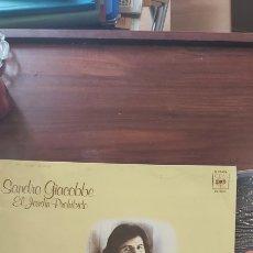 Discos de vinilo: EL JARDIN PROHIBIDO SANDRO GIACOBBE. LP. Lote 260538040