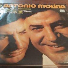 Discos de vinilo: ANTONIO MOLINA - COMO EN ESPAÑA NI HABLAR - LP 1973. Lote 260540005