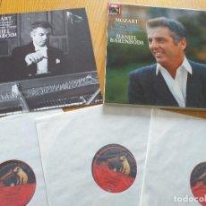 Discos de vinilo: DANIEL BARENBOIM - MOZART PIANO SONATAS VOL. II- SET BOX 3 LP.- EMI 1985 - GERMANY. Lote 260540995