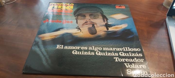 MANOLO GAS & THE TINTO BAND BANG A TODO GAS LP 1976 (Música - Discos - LP Vinilo - Grupos Españoles de los 70 y 80)