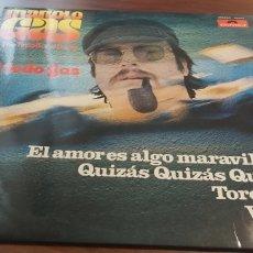 Discos de vinilo: MANOLO GAS & THE TINTO BAND BANG A TODO GAS LP 1976. Lote 260546105