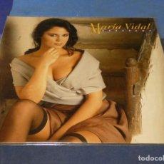 Discos de vinilo: EXPRO LP MARIA VIDAL ABRAZAME ZAFIRO 1991 BUEN ESTADO GENERAL. Lote 260552970