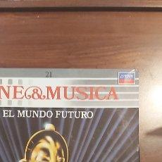 Discos de vinilo: BSO - CINE MUSICA 21 - LP - EL MUNDO FUTURO - METROPOLIS / DUNE / ROLLERBALL. Lote 260559870
