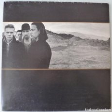 Dischi in vinile: U2 - THE JOSHUA TREE (LP ISLAND 1987 ESPAÑA) LLEVA EL ENCARTE. Lote 260567780