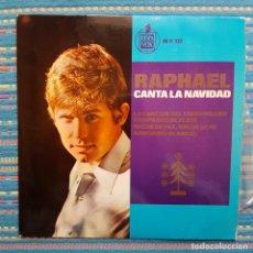 Discos de vinilo: RAPHAEL CANTA A LA NAVIDAD. LA CANCIÓN DEL TAMBORILERO. Lote 260574740