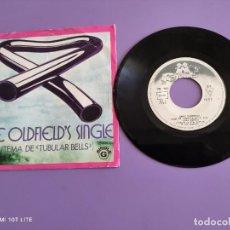 Disques de vinyle: JOYA DIFICIL. SINGLE. MIKE OLDFIELD´S ( TEMA DE TUBULAR BELLES ) PORTUGAL. VIRGIN RECORDS VS 101.. Lote 260578115