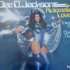 Discos de vinilo: DEE D. JACKSON AUTOMATIC LOVER LP 1978. Lote 260578270